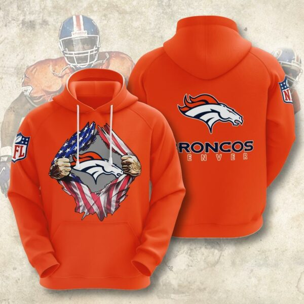 nfl denver broncos american ripped 2020 pullover and zippered hoodies custom