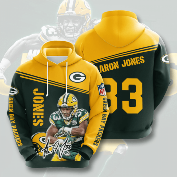 nfl green bay packers 3d hoodie for men for women all over printed hoodie wr2bw