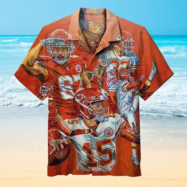 NFL Kansas City Chiefs Vintage Hawaiian Shirt