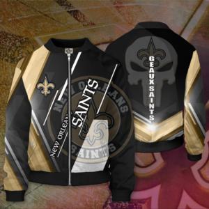 NFL New Orleans Saints NOS Bomber Jacket