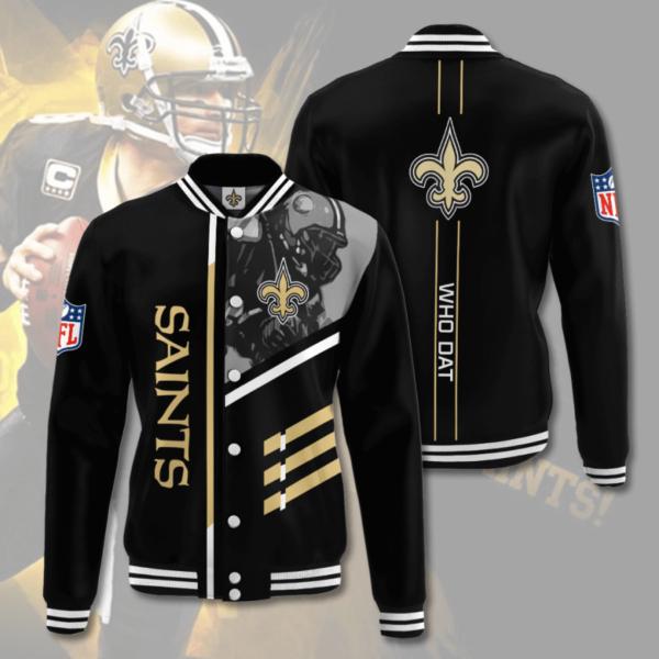 New Orleans Saints NOS Varsity Jacket