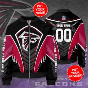 Atlanta Falcons Personalized AF Bomber Jacket