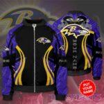 Baltimore Ravens Personalized BR Bomber Jacket