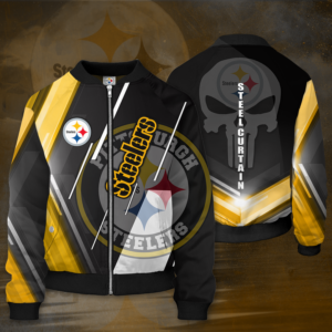 Pittsburgh Steelers PS Bomber Jacket