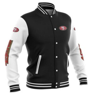 San Francisco 49ers Baseball Jacket cute Pullover gift for fans