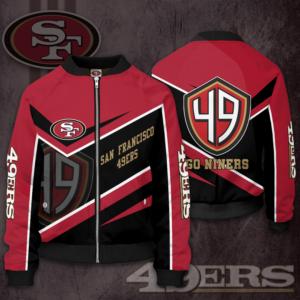 NFL San Francisco 49ers SF Bomber Jacket