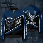 Seattle Seahawks Jacket SS Bomber Jacket