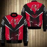 Tampa Bay Buccaneers bomber Jacket lightning graphic gift for men