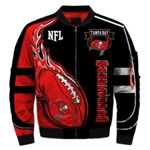 Tampa Bay Buccaneers bomber jacket winter coat gift for men