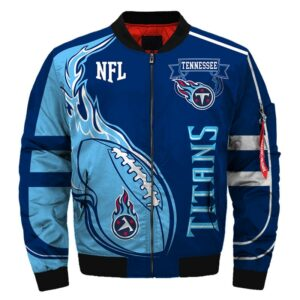 Tennessee Titans bomber jacket Fashion winter coat gift for men