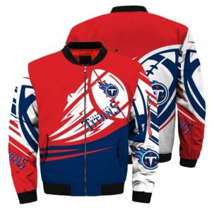 Tennessee Titans Bomber Jacket graphic ultra-balls