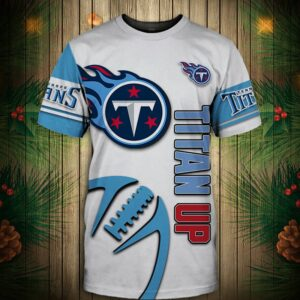 Tennessee Titans T-shirt Graphic balls gift for fans