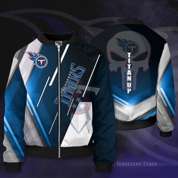 Tennessee Titans TT Bomber Sport Jacket