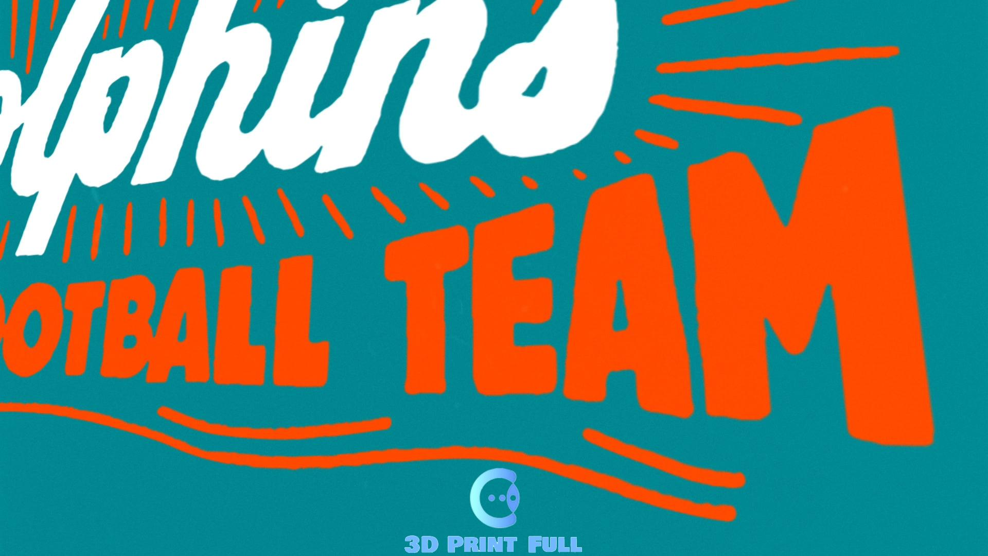 The Miami Dolphins Fight Song